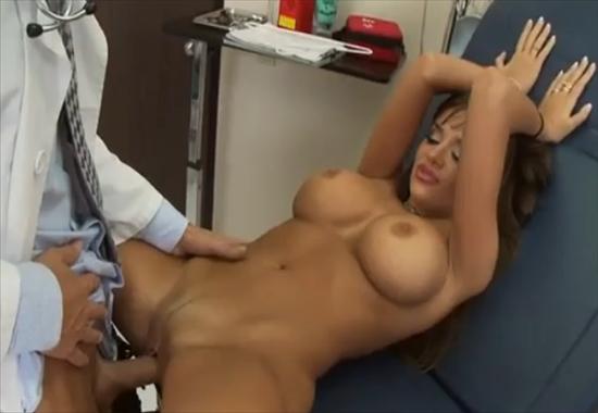 гинеколог трахает жену порно