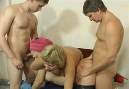 Порно мама тато та дочка