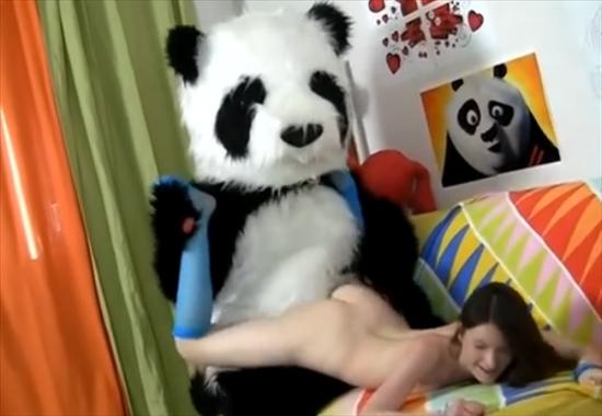 Онлайн секс с пандой