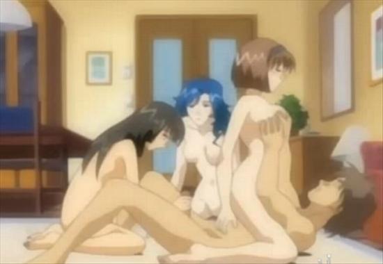 Японские порно мультики в школе