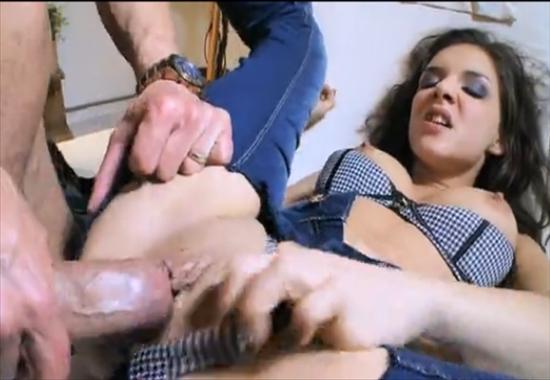 Фото секс в порванных чулках фото 41-521