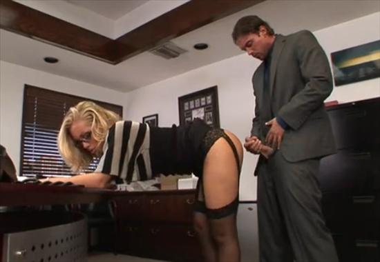 Секретарша наказана порно
