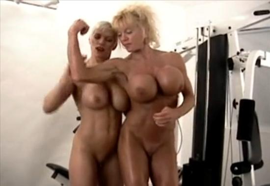 Порно атлетки бодибилдинг секс