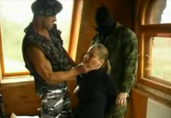 допрос у солдат порно