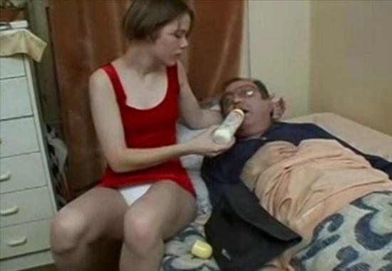 молодая с отцом порно