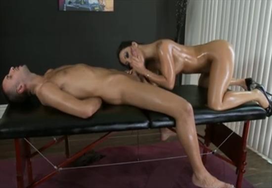 жёсткое порно массаж