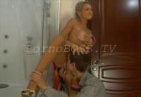Секс с тётей в ване