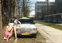 Публичный Секс В Открытую Прямо На Улице У Машины (Доггеры)