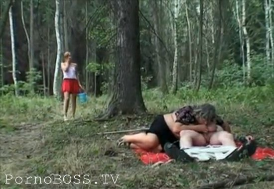 Секс в лесу фото дед фото 257-41