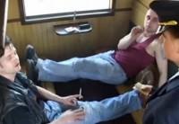 Быдло Пассажиры В Грубой Форме Изнасиловали Проводницу Поезда