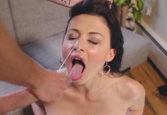 Страпоном, порно выстрелы в рот подборка