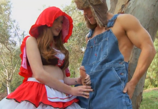 Порно постановка красная шапочка онлайн