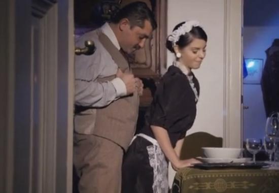 Похотливый Господин Показал Молодой Служанке Кто В Доме Хозяин